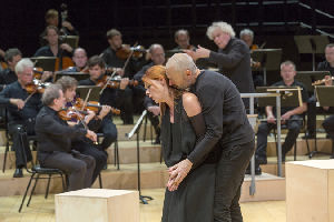 St. Matthew Passion; Berlin Philharmonic; Sir Simon Rattle, conductor; Peter Sellars, director; Rundfunkchor Berlin.